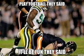 Football Player Meme - play football they said weknowmemes