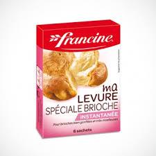 levure cuisine recette brioche exotique facile francine recette de brioche