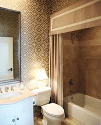 ideas for bathroom showers your bathroom look larger with shower curtain ideas