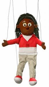 string puppet black girl marionette string puppet toys