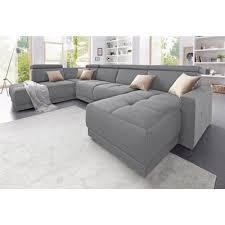 canapé d angle 3 suisses canapé d angle en tissu chiné gris autres mobilier 3suisses