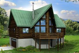 Log Home Floor Plans With Basement by A Frame House Plans Eagle Rock 30 919 Associated Designs