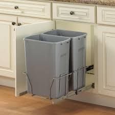 cabinet door garbage can