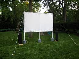 Backyard Theater Ideas Lights Cameras Insect Repellent How To Build Your Own Outdoor
