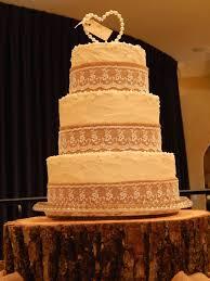 Lace Cake Decorating Techniques 102 Best Cakes Burlap And Lace Images On Pinterest Burlap
