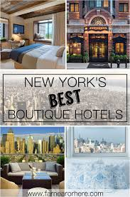 new york u0027s best boutique hotels u2026