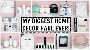 my biggest home decor haul ever homegoods tj maxx marshalls