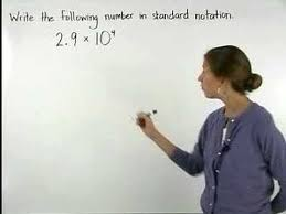 scientific notation mathhelp com pre algebra help youtube