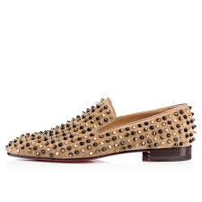 dandelion spikes flat grege popcorn suede men shoes christian