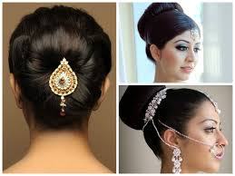 simple bridal hairstyle indian wedding hairstyles for long hair step by hairstyles