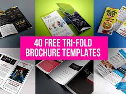 40 free tri fold brochure templates free psd ui download