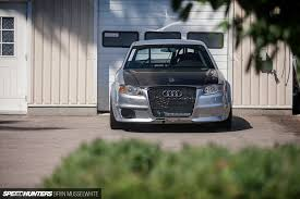 what does audi stand for an audi that hates corners speedhunters