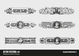 free vintage vector ornaments vintage vectors royalty free