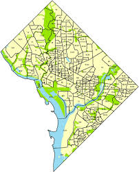 Washington Area Code Map by Select 2010 Census Tract Profile Neighborhoodinfo Dc