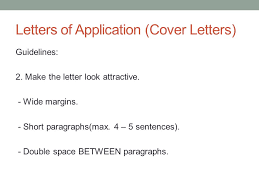 technical writing october 10 th letters of application cover