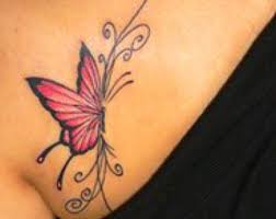 butterfly pictures on chest meaning design idea