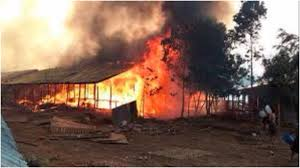 prophet sets himself and 21 church members on fire trying to