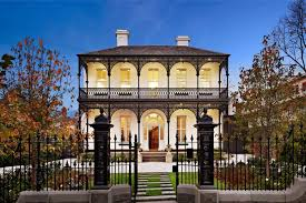 victorian house with paver walkway elegant and romantic