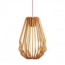Wood Pendant Light Wood Pendant Light Replica