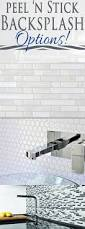 Kitchen Backsplash Stick On Best 20 Vinyl Backsplash Ideas On Pinterest Vinyl Tile