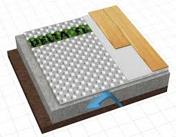 creative what is the best flooring for a basement cement floor