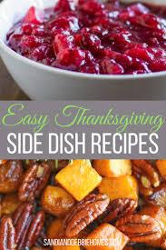 25 easy thanksgiving side dish recipes sandi clark and debbie