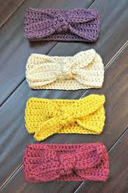 crochet headband for baby crochet top knot headband baby headband baby earwarmer