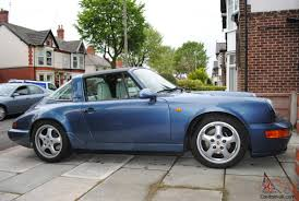 porsche 964 cabriolet for sale carrera 4 911 964 targa in baltic blue
