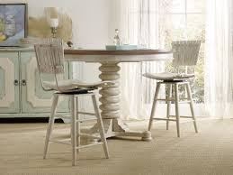 hooker furniture dining room sunset point pedestal dining table