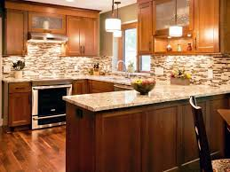 Modern Design Kitchen Cabinets Tiles Backsplash Kitchen Backsplash White Cabinets Brown