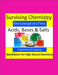 acids bases u0026 salts organized u0026 engaging worksheets for high