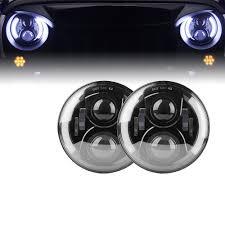 jeep headlights halo 7