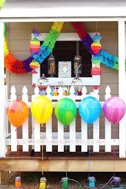 Rainbow Party Decorations 156 Best Kids Rainbow Party Ideas Images On Pinterest Rainbow