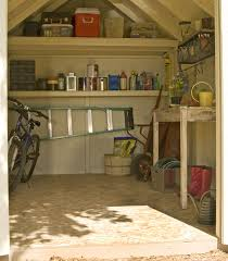 maximize your storage potential inside your shed by adding shelves