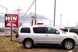 nissan armada for sale fort wayne guerrilla signs l world u0027s first collapsible sign indoor l