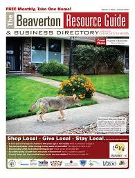 Beaverton Zip Code Map by Brg January 2017 By Beaverton Resource Guide Issuu