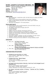 resume format 2013 sle philippines articles sle resume for filipino nurses address be unit d st sle