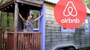 tiny house in the woods used as airbnb full tour youtube