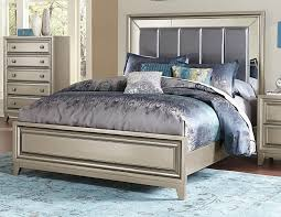 silver mirror bedroom set