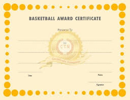 55 best award certificate template images on pinterest