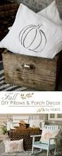 Outdoor Christmas Pillows by Best 25 Fall Pillows Ideas On Pinterest Orange Holiday Home