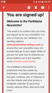 Six Flags Newsletter Something Amusing U Something Amusing Reddit