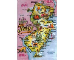 Map New Jersey Maps Of New Jersey State Collection Of Detailed Maps Of New