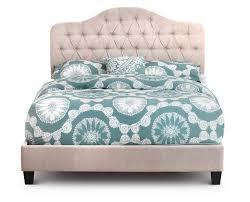 Beige Upholstered Bed La Jolla Upholstered Bed Furniture Row