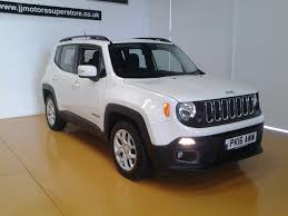 silver jeep renegade used jeep renegade cars for sale motors co uk