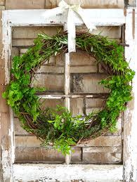 herb wreath fresh herb wreath a pretty in the suburbs