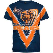 Chicago Bears V Dye Chicago Bears Tie Dye T Shirt Chicago Tribune Store