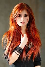 red hair with highlights pics hairstyle picture magz