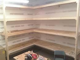 building basement storage shelves home storage designs