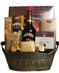 canada gift baskets bailey s original gift basket bailey s basket toronto
